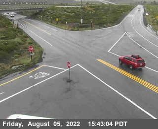 Cal Trans Mammoth Mountain Cam